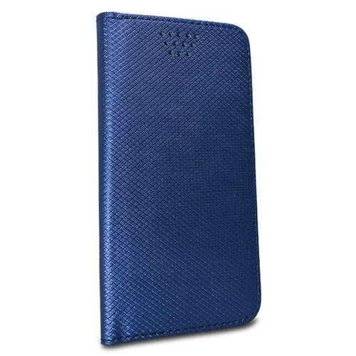 Puzdro Smart Book Universal 4.7-5.0 - modré