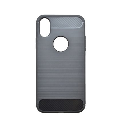 Gumené puzdro Simple iPhone  XR čierne