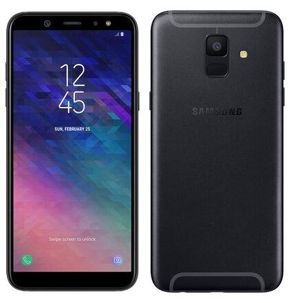 Samsung Galaxy A6 A600 Dual SIM, Čierny - SK distribúcia