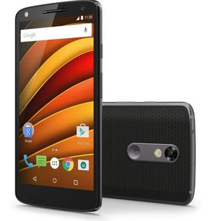 Motorola Moto X Force 3GB/32GB Single SIM Čierny - Trieda C