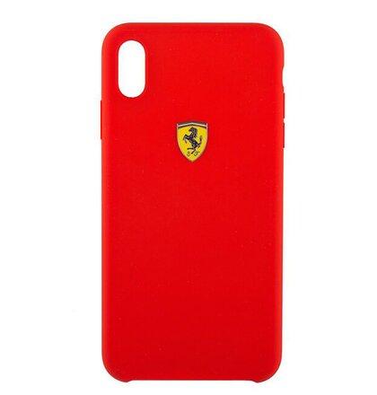 FESSIHCI65RE SF Silicone Case Red pro iPhone XS Max