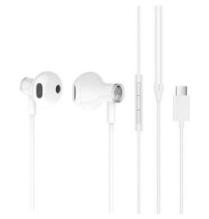 ZBW4434TY Xiaomi Mi Dual Driver Earphones Stereo Type C  White  (EU Blister)