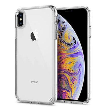 Puzdro Spigen Ultra Hybrid Crystal iPhone Xs Max - clear