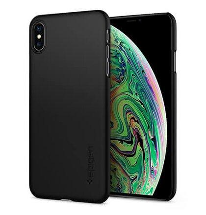 Puzdro Spigen Thin Fit iPhone Xs Max - black
