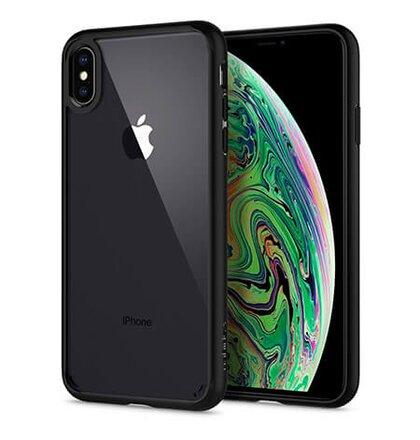 Puzdro Spigen Ultra Hybrid Matte iPhone Xs Max - black