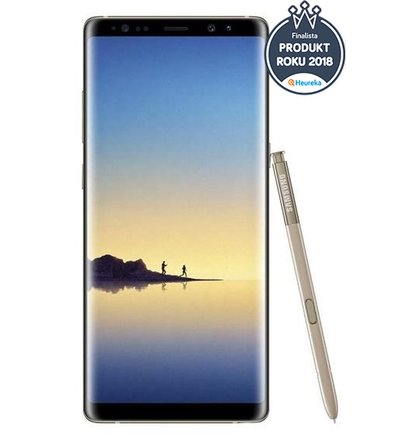 Samsung Galaxy Note 8 N950F 64GB Single SIM Zlatý - Trieda B
