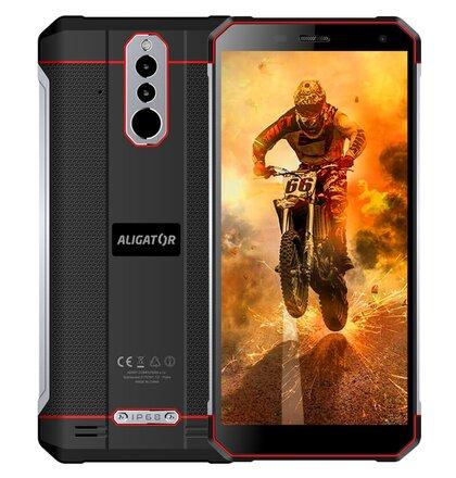 Aligator RX700 eXtremo Dual SIM, Čierno-červený