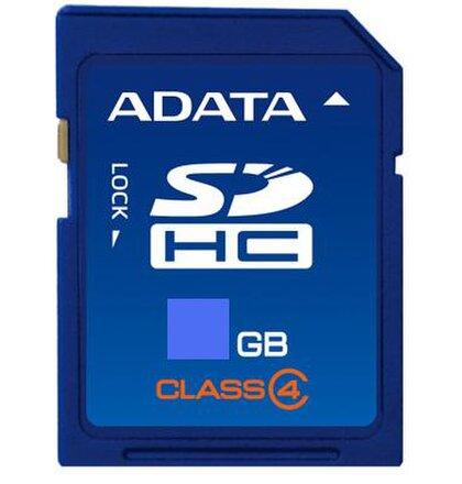 16 GB . SDHC karta A-DATA class 4