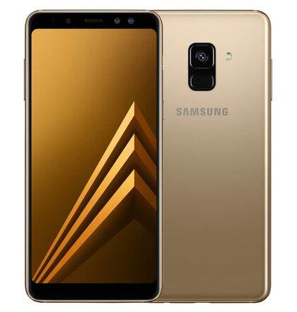 Samsung Galaxy A8 2018 A530 Dual SIM, Zlatý - SK distribúcia