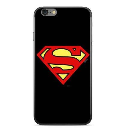 Superman Zadní Kryt 002 Black pro Huawei P20 Lite