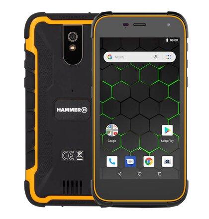MyPhone Hammer Active 2 Dual SIM, Oranžový