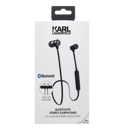 CGBTE08 Karl Lagerfeld Bluetooth Stereo Headset Black (EU Blister)