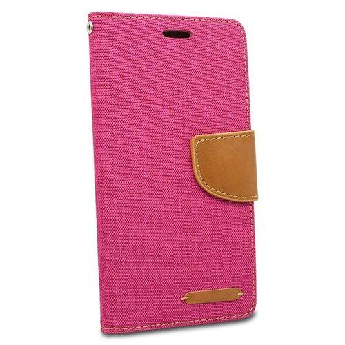 Puzdro Canvas Book Samsung Galaxy J4+ J415 - ružové