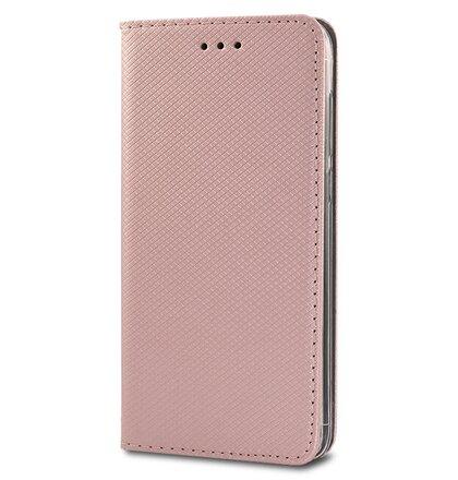 Puzdro Smart Book Huawei P10 Lite - ružovo-zlaté