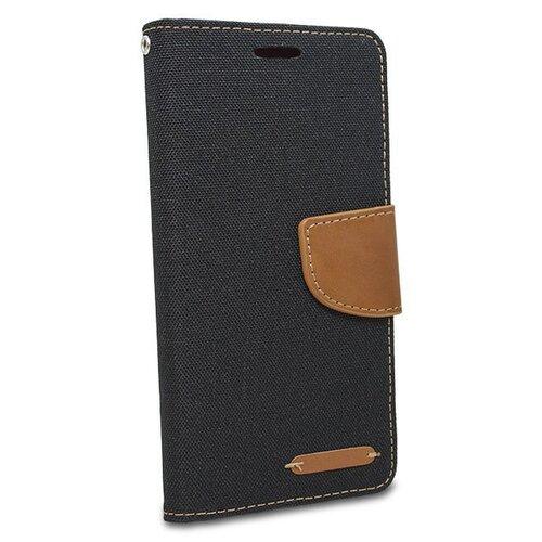 Puzdro Canvas Book Samsung Galaxy A6+ A605 - čierne