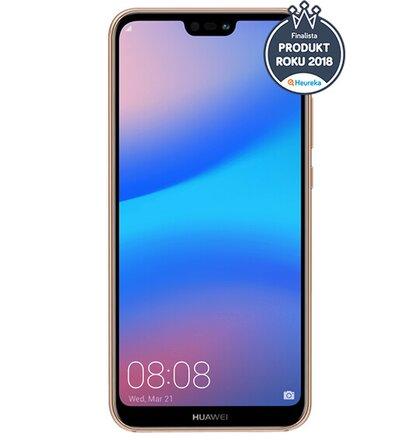 Huawei P20 Lite Dual SIM, Ružový - SK distribúcia