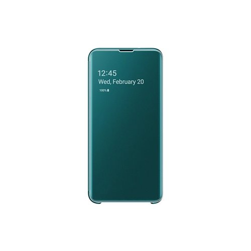 EF-ZG970CGE Samsung Clear View Cover Green pro G970 Galaxy S10e (EU Blister)