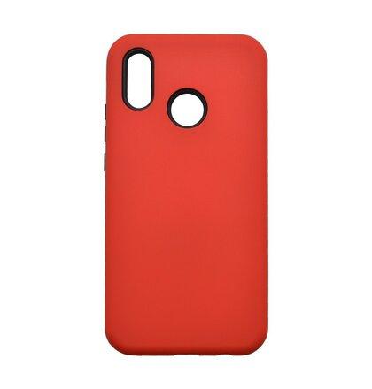 Plastové puzdro Defender Huawei P20 Lite červené