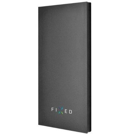 PowerBank FIXED Zen 8000 v luxusnom hliníkovom prevedení, čierna (Pošk.Blister)