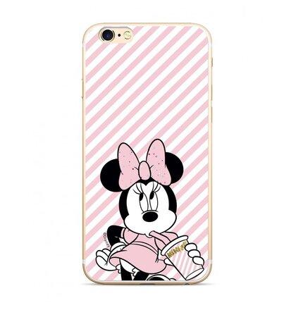 Disney Minnie 017 Glitter Back Cover Pink pro iPhone 6/7/8