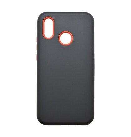 Plastové puzdro Defender Huawei P20 Lite čierne
