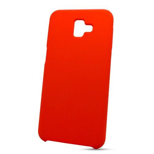 Puzdro Liquid TPU Samsung Galaxy J6+ J610 - červené