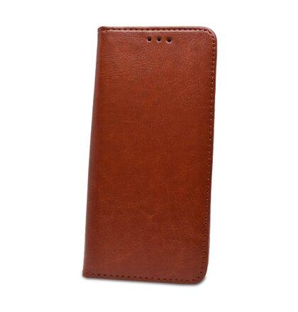 Puzdro Book Special Leather (koža) Huawei P20 Lite - hnedé