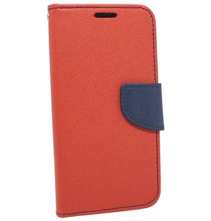 Puzdro Fancy Book Xiaomi Mi A2 Lite/Redmi 6 Pro - červeno-modré