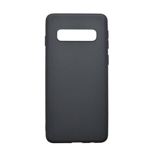 Gumené puzdro Samsung Galaxy S10 Plus čierne matné