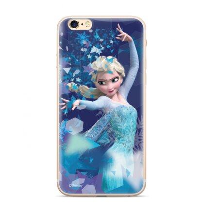 Disney Elsa 011 Back Cover pro iPhone XR Blue