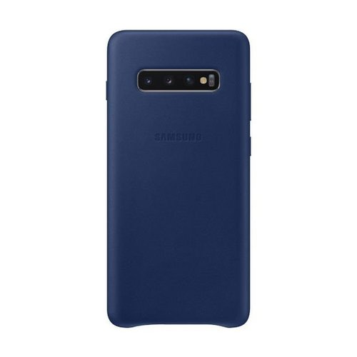 EF-VG975LNE Samsung Leather Cover Navy pro G975 Galaxy S10 Plus
