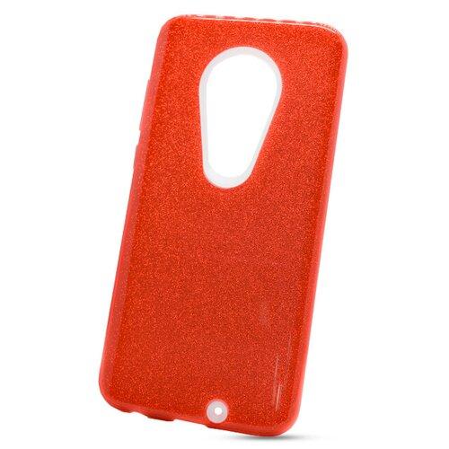 Puzdro Shimmer 3in1 TPU Moto G7/G7 Plus - červené