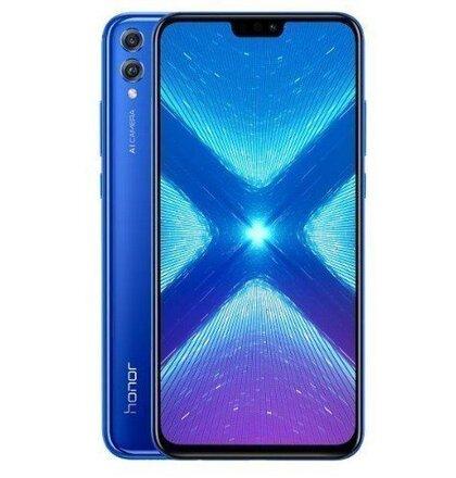 Honor 8X 4GB/128GB Dual SIM Modrý - Trieda A