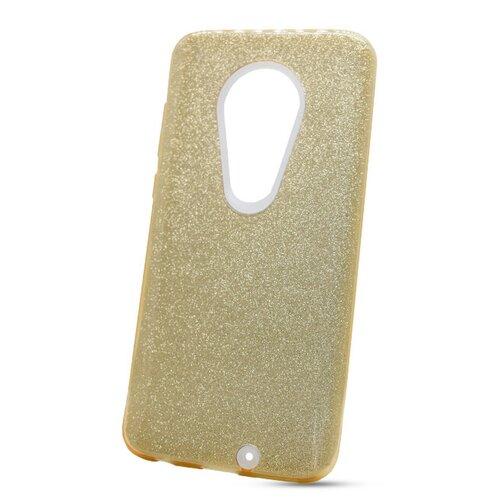 Puzdro Shimmer 3in1 TPU Moto G7/G7 Plus - zlaté