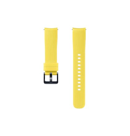 ET-YSU81MYE Samsung Watch Silikonový Řemínek 20mm Yellow (EU Blister)