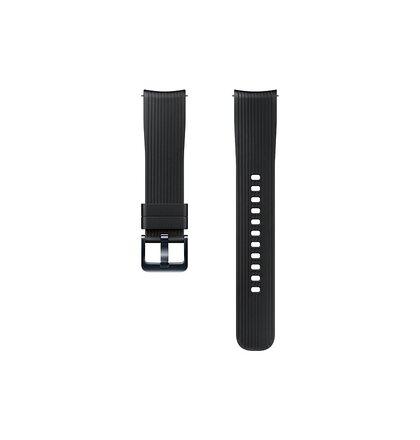 ET-YSU81MBE Samsung Watch Silikonový Řemínek 20mm Black (EU Blister)