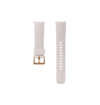 ET-YSU81MSE Samsung Watch Silikonový Řemínek 20mm White (EU Blister)