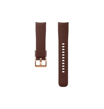 ET-YSU81MAE Samsung Watch Silikonový Řemínek 20mm Brown (EU Blister)