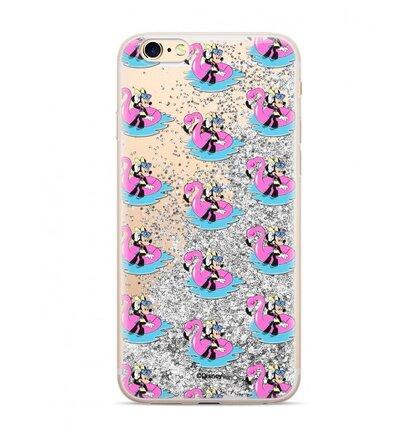 Disney Minnie 023 Glitter Back Cover Silver pro iPhone 6/7/8