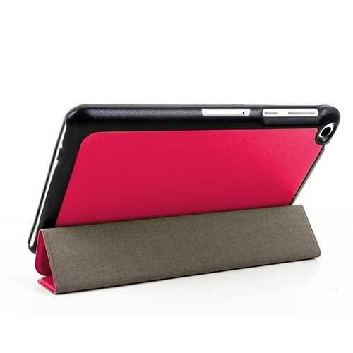 Tactical Book Tri Fold Pouzdro pro Huawei MediaPad T3 8 Pink