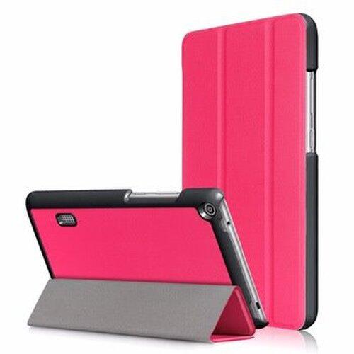 Tactical Book Tri Fold Pouzdro pro Huawei MediaPad T3 7 Pink