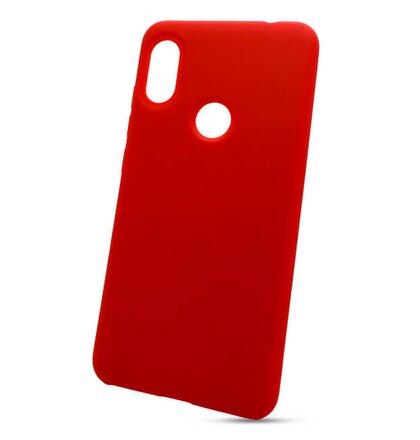 Puzdro Liquid TPU Xiaomi Note 6 Pro - červené