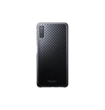 Samsung Zadný kryt pre Samsung A7 (2018) Čierne