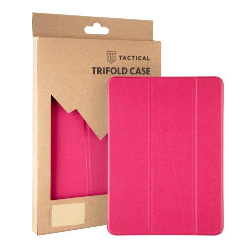 Tactical Book Tri Fold Pouzdro pro Huawei MediaPad T5 10 Pink