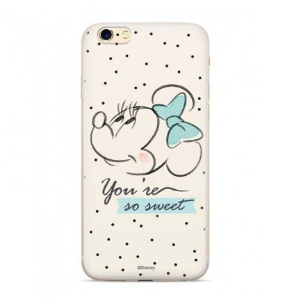 Disney Minnie 042 Back Cover White pro iPhone 6/7/8