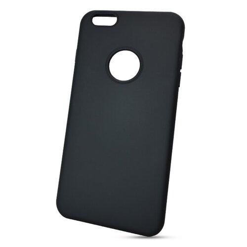 Puzdro Liquid TPU iPhone 6 Plus/6s Plus - čierne (výrez na logo)