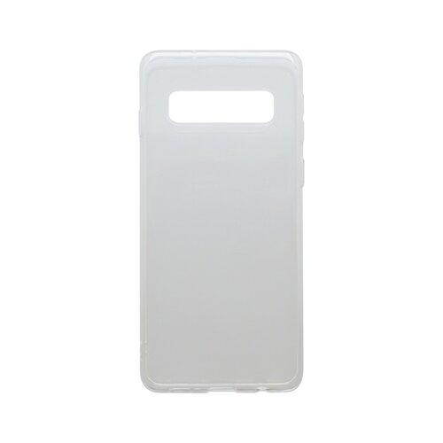 Gumené puzdro Samsung Galaxy S10 Plus priehľadné, nelepivé