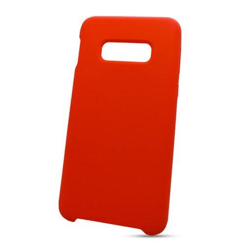 Puzdro Liquid TPU Samsung Galaxy S10e G970 - červené