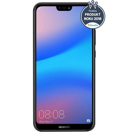 Huawei P20 Lite Dual SIM, Čierny - vystavené/použité