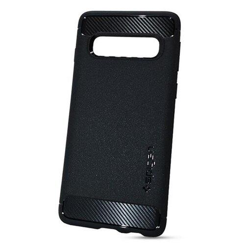 Puzdro Spigen Rugged Armor Samsung Galaxy S10+ G975 black